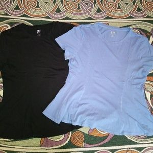 NWOT Gap M Vintage Wash Peplum T-Shirts Bundle
